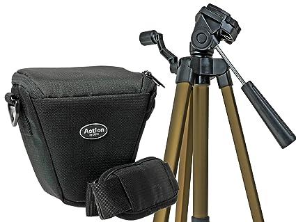 Cámara de Fotos Set Colt Bolsa con trípode de Viaje para Canon EOS ...