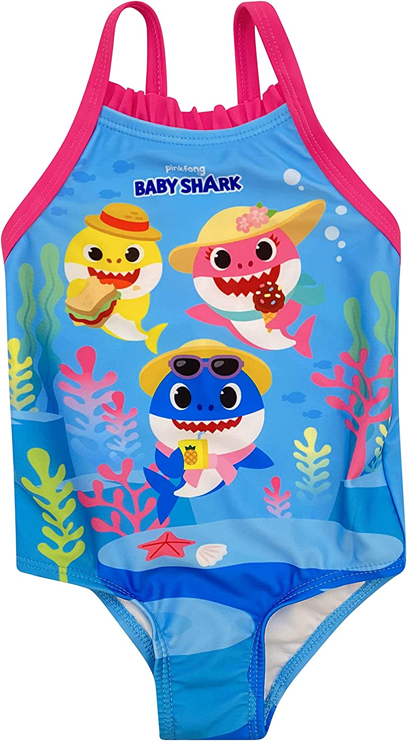 Dreamwave Infant Girl Authentic Character One Piece Swimsuit UPF 50