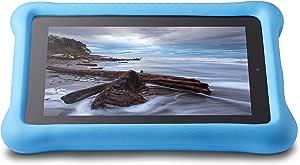 Amazon FreeTime - Funda para niños para tablets Fire (5ª generación - modelo de 2015), Azul