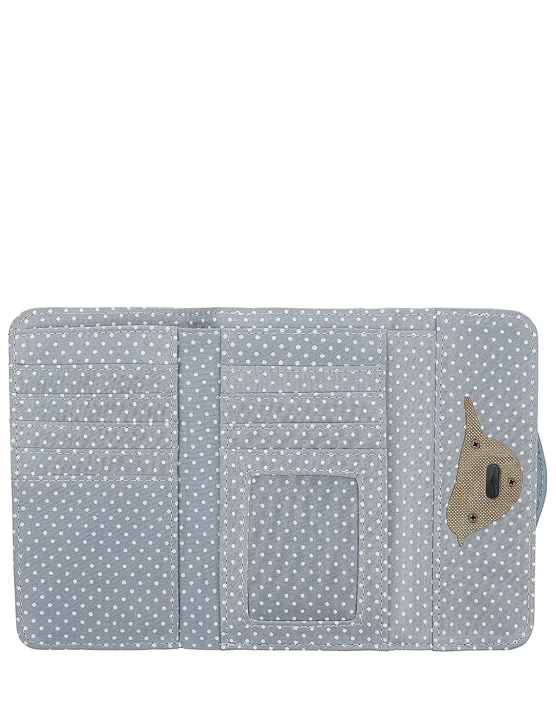 Accessorize - Cartera para mujer, color gris, talla Einheitsgröße: Amazon.es: Zapatos y complementos