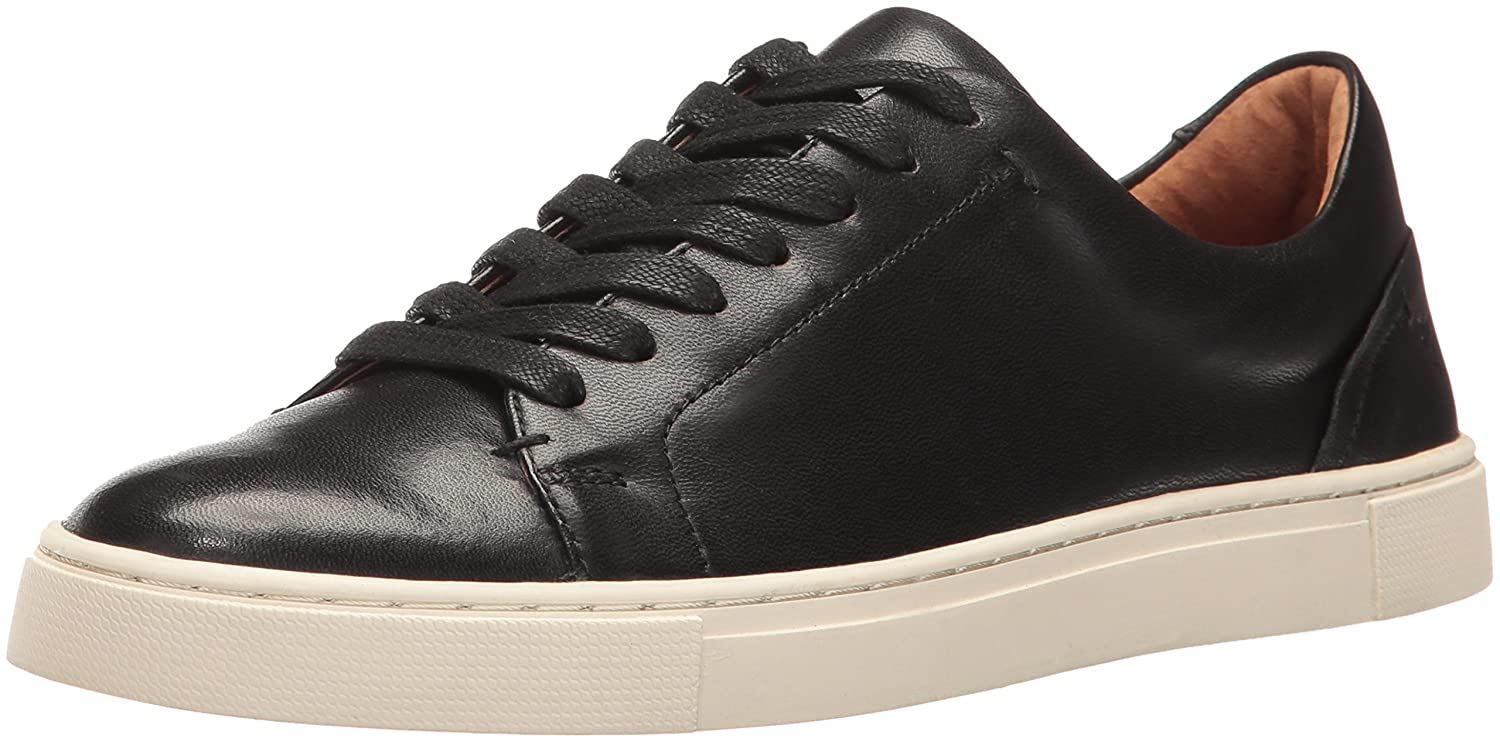 Black Soft Nappa Lamb Frye Women's Ivy Low
