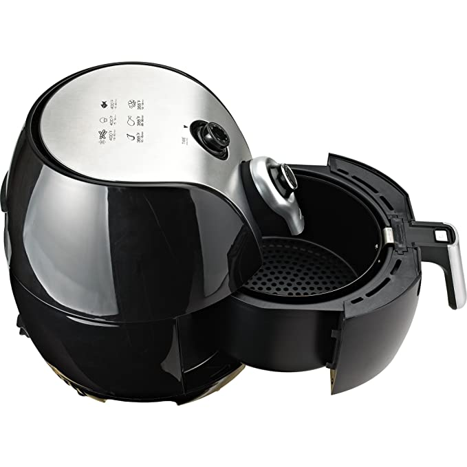 Amazon.com: Brentwood Select AF-32MBK 3.4Qt Electric Air Fryer, Timer & Temp. Control: BRENTWOOD SELECT: Kitchen & Dining