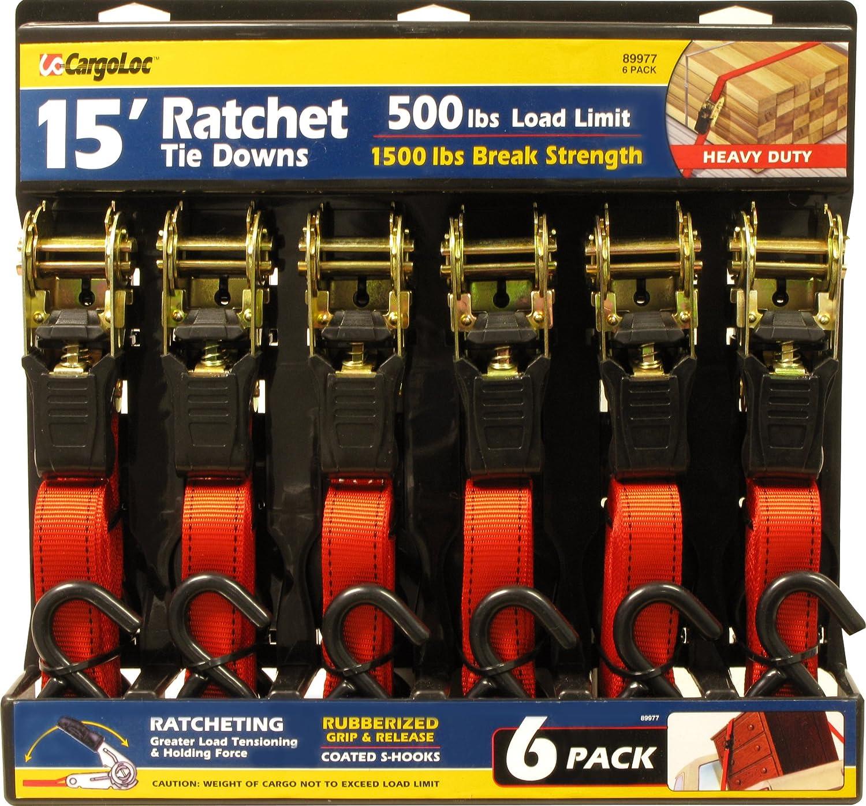 Premium Ratchet Tie Downs