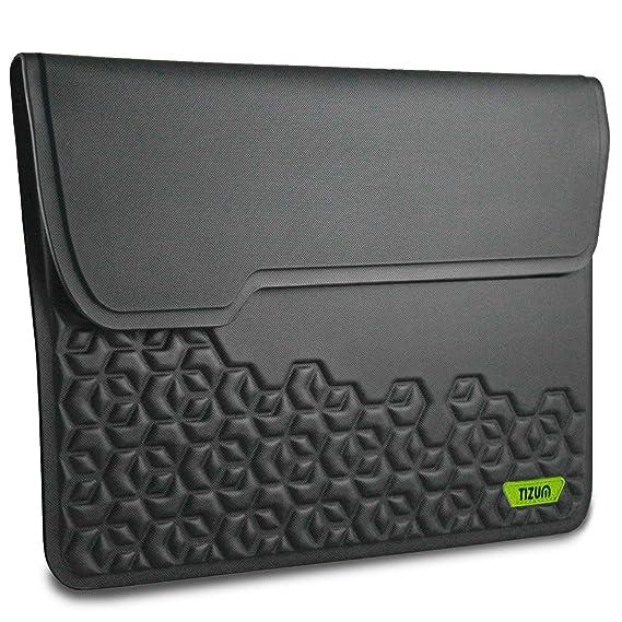Tizum Laptop Bag Sleeve Case Cover for 13-Inch MacBook Air MQD32HN/A (Black)