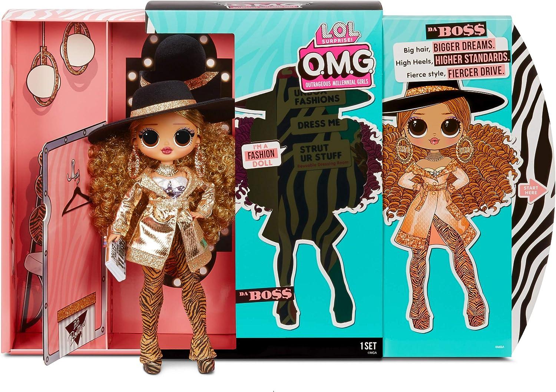 Amazon.es: L.O.L. Surprise! Muñecas de Moda Coleccionables para Niñas - con 20 Sorpresas y Accesorios - Da Boss - O.M.G. Serie 3: Juguetes y juegos