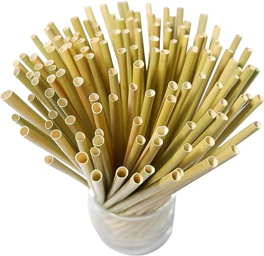 Pajitas biodegradables de COBA Straws. Pajitas desechables 100 ...