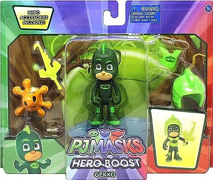 Details about  /Disney PJ Masks 3IN Gekko and Catboy Hero Boost Action Figure LOT Bundle Kids