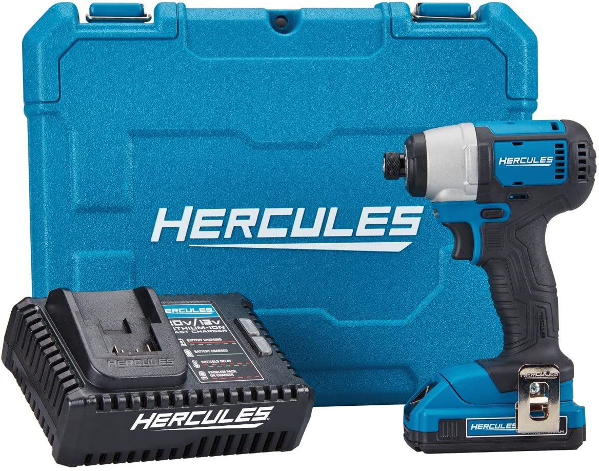 20V Lithium Cordless 1 4 in. Hex Compact Impact Driver Kit