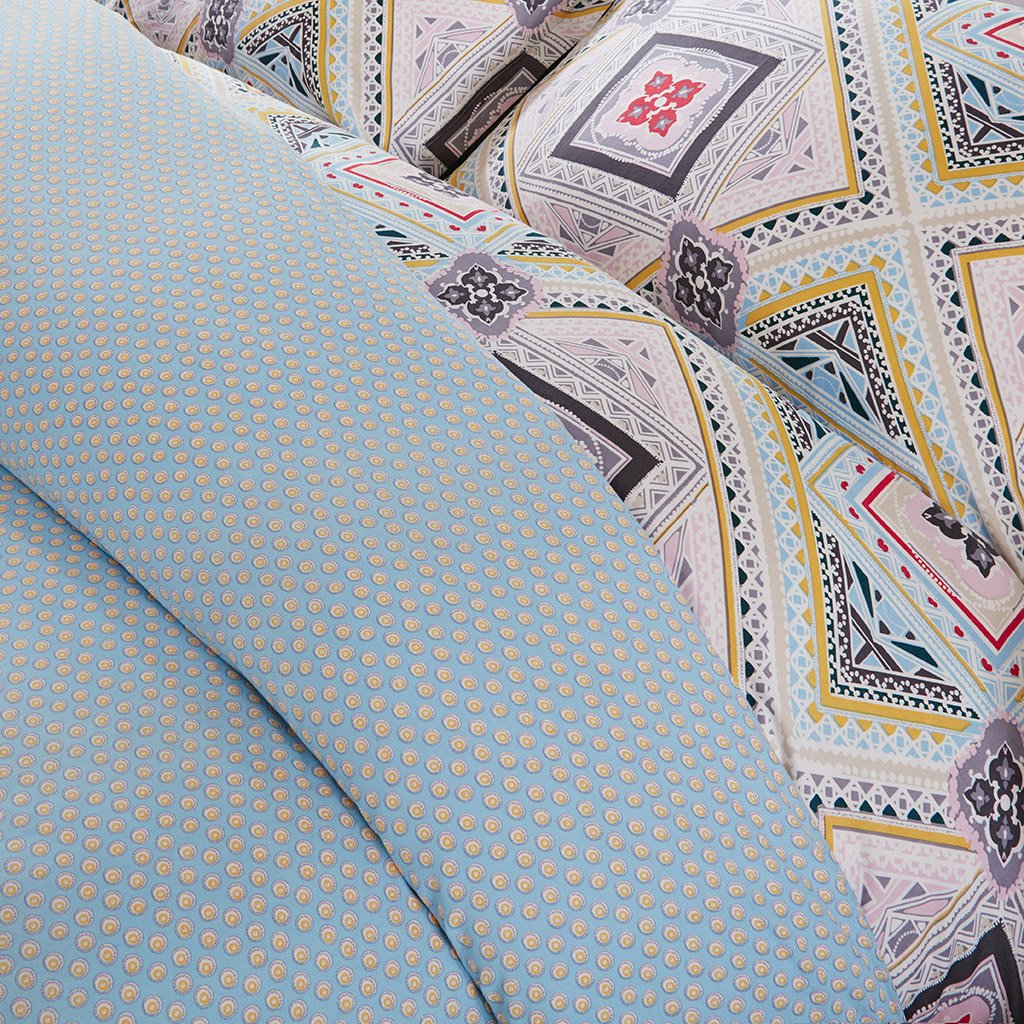 Kess InHouse Laurie Baars Keys Blue Aqua 23 x 23 Square Floor Pillow