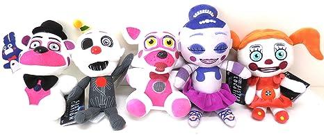 "Funko Five Nights Sister Location-Funtime Freddy Collectible Plush 6/"""