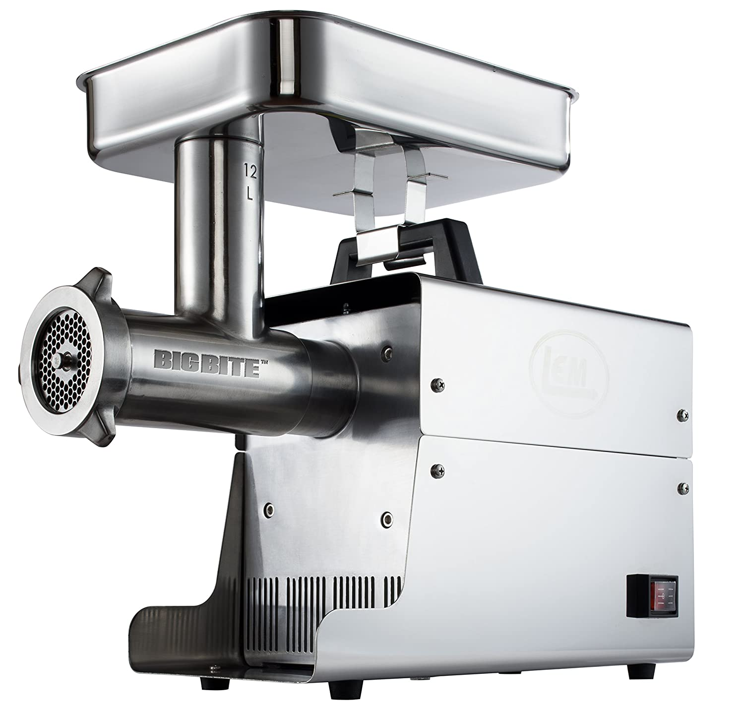 LEM Products W780A Stainless Steel Big Bite Electric #12-Meat Grinder (.75-HP)