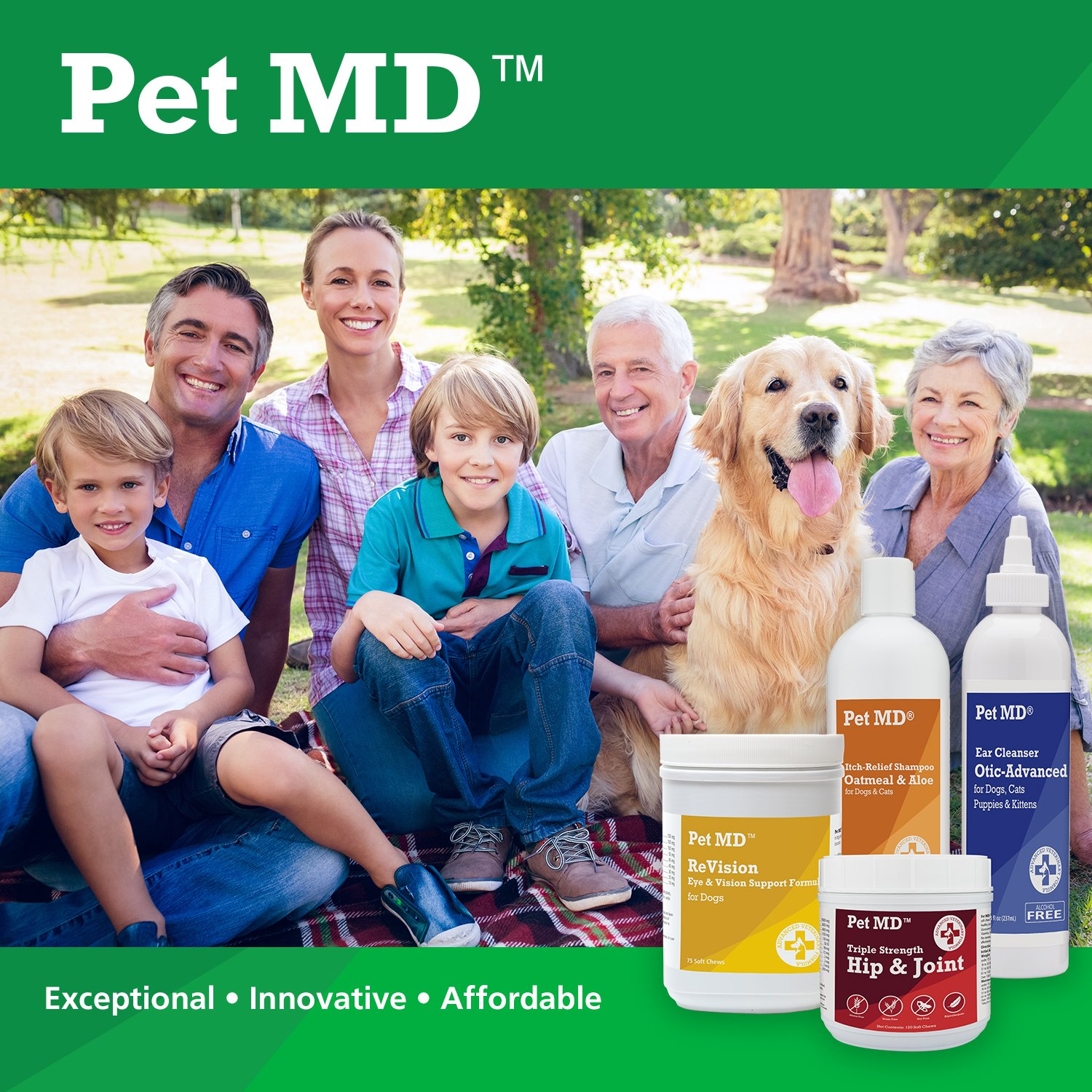 Pet MD - Canine Tabs Plus 365 Count - Advanced Multivitamins for Dogs - Natural Daily Vitamin and Mineral Nutritional Supplement - Liver Flavored Chewable Tablets by Pet MD (Image #7)