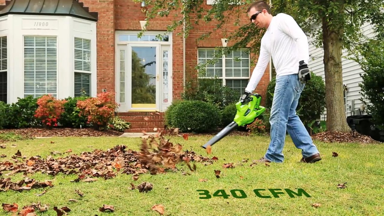 Greenworks 40V 185 MPH Variable Speed Cordless Blower Vacuum, 4.0 AH Battery Included 24322 by Greenworks (Image #12)