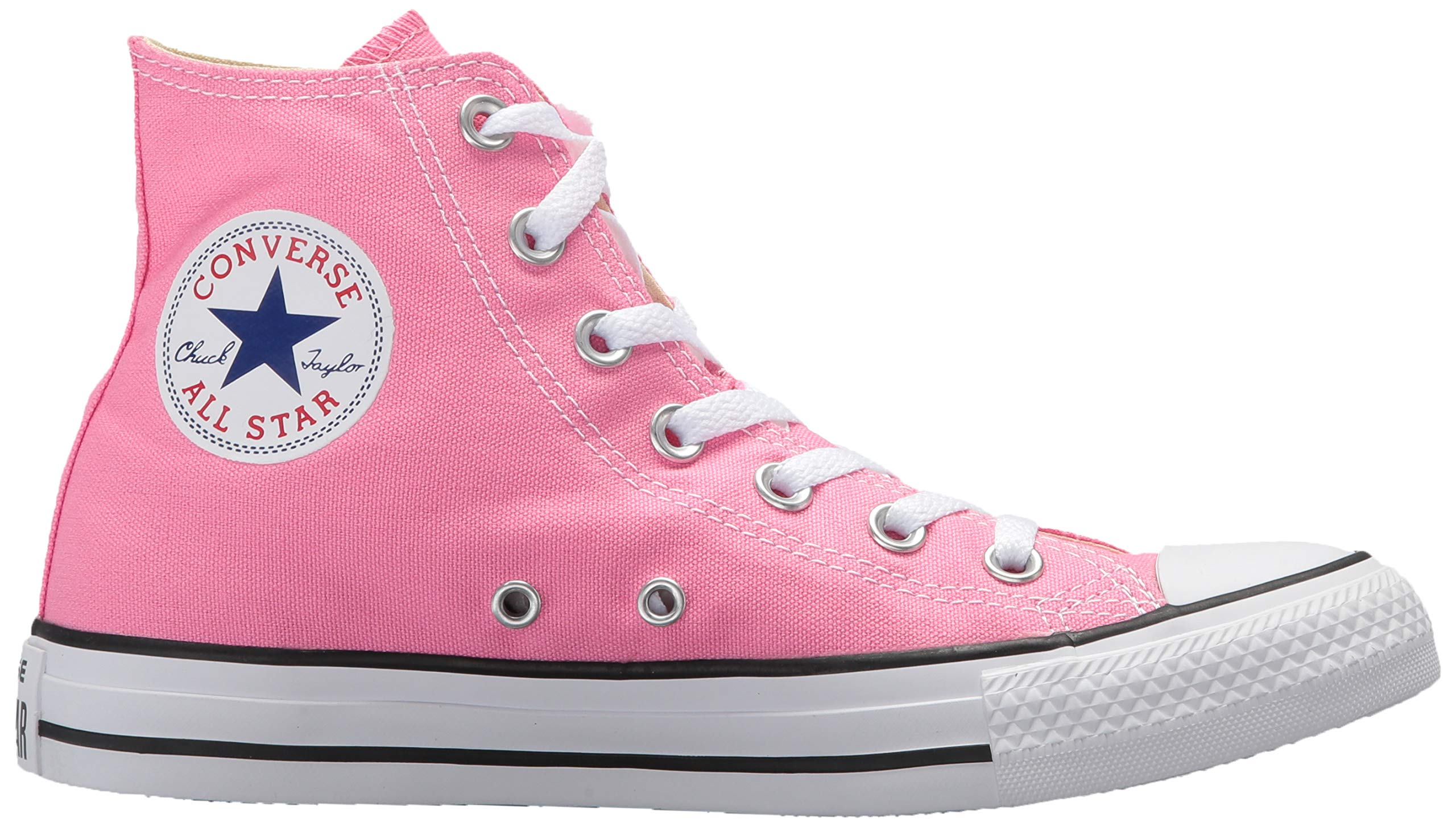 Chuck Taylor All Star Canvas High Top, Pink, 4 M US by Converse (Image #8)