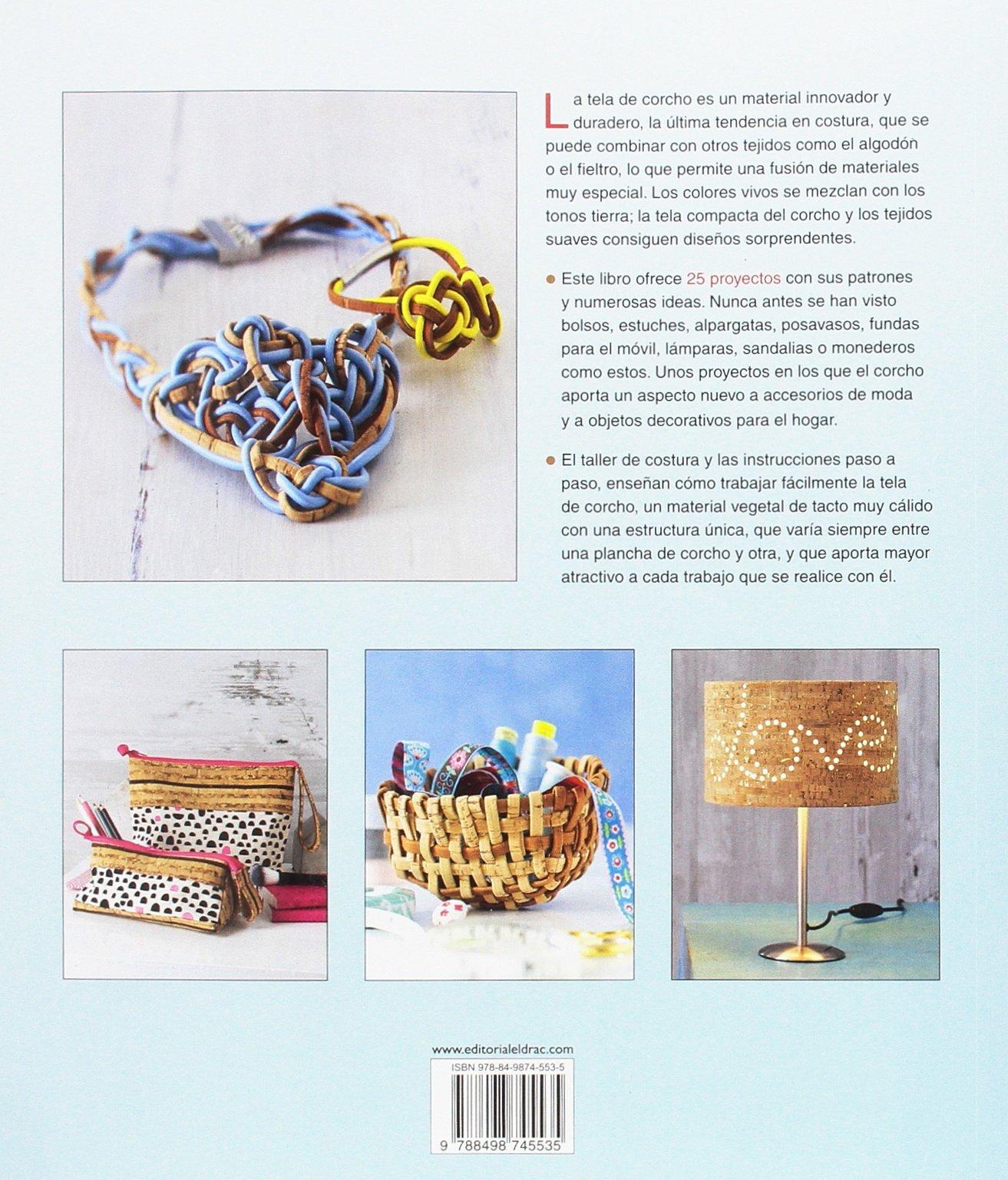 Costura con tela de corcho : 25 proyectos con sus patrones ...