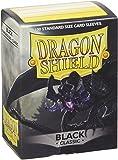 Dragon Shield Standard Sleeves (Black)