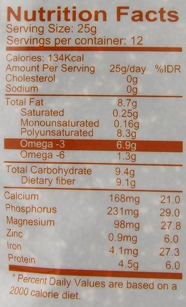 enature Orgánica Chia semillas, 10.6 onza: Amazon.com ...