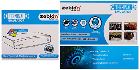 Zebion Terminal Emulator Thin Client FL200: Amazon in: Software
