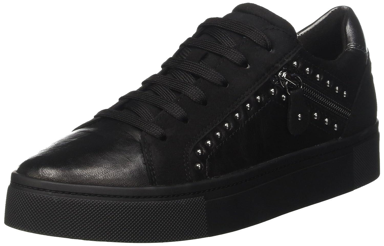 Geox D Hidence B, Zapatillas para Mujer 40 EU|Negro (Black)