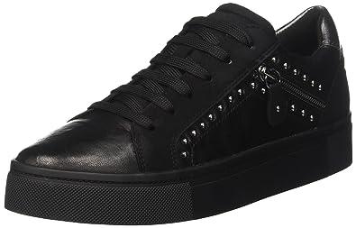 Damen D Hidence B Sneaker, Schwarz (Black), 38 EU Geox