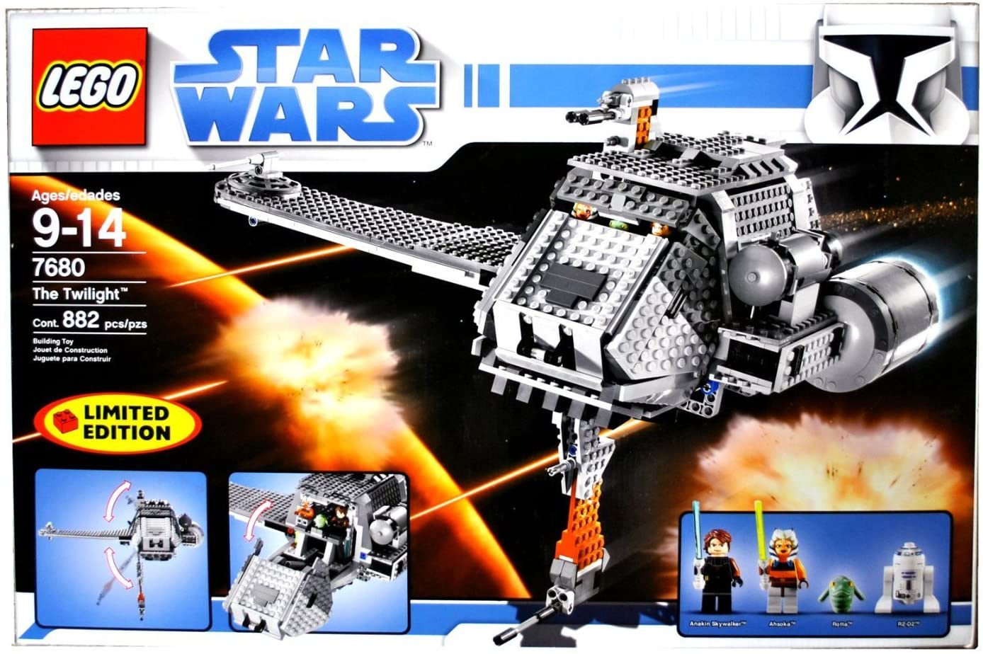 LEGO The Twilight - Star Wars Set 7680