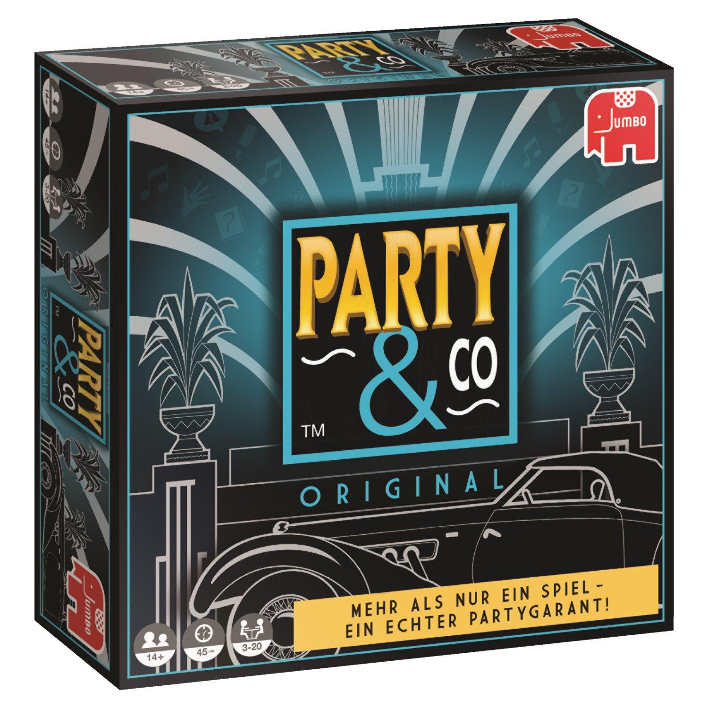 Party & Co. Original Adultos Juego de mesa de carreras - Juego de tablero Juego de mesa de carreras, Adultos, 45 min, Niño/niña, 14 año s , 01/08/2017 - Idioma Aleman: Amazon.es: