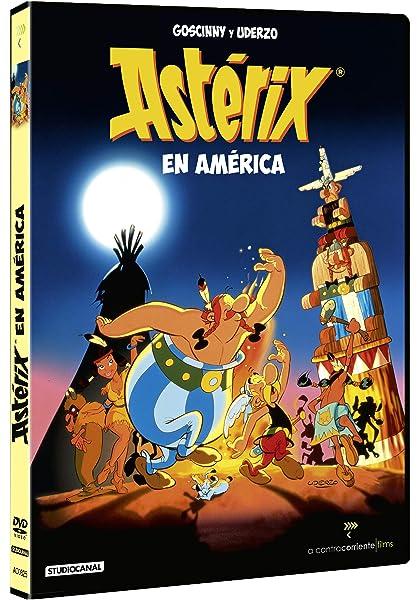 Astérix En America [DVD]: Amazon.es: Gerhard Hahn, Jürgen Wohlrabe: Cine y Series TV