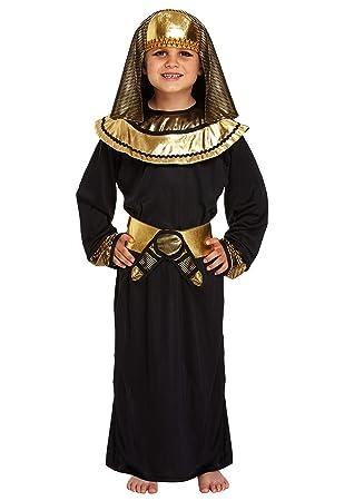 DISFRAZ INFANTIL EGIPCIO FARAÓN GRANDE 10-12 AÑOS