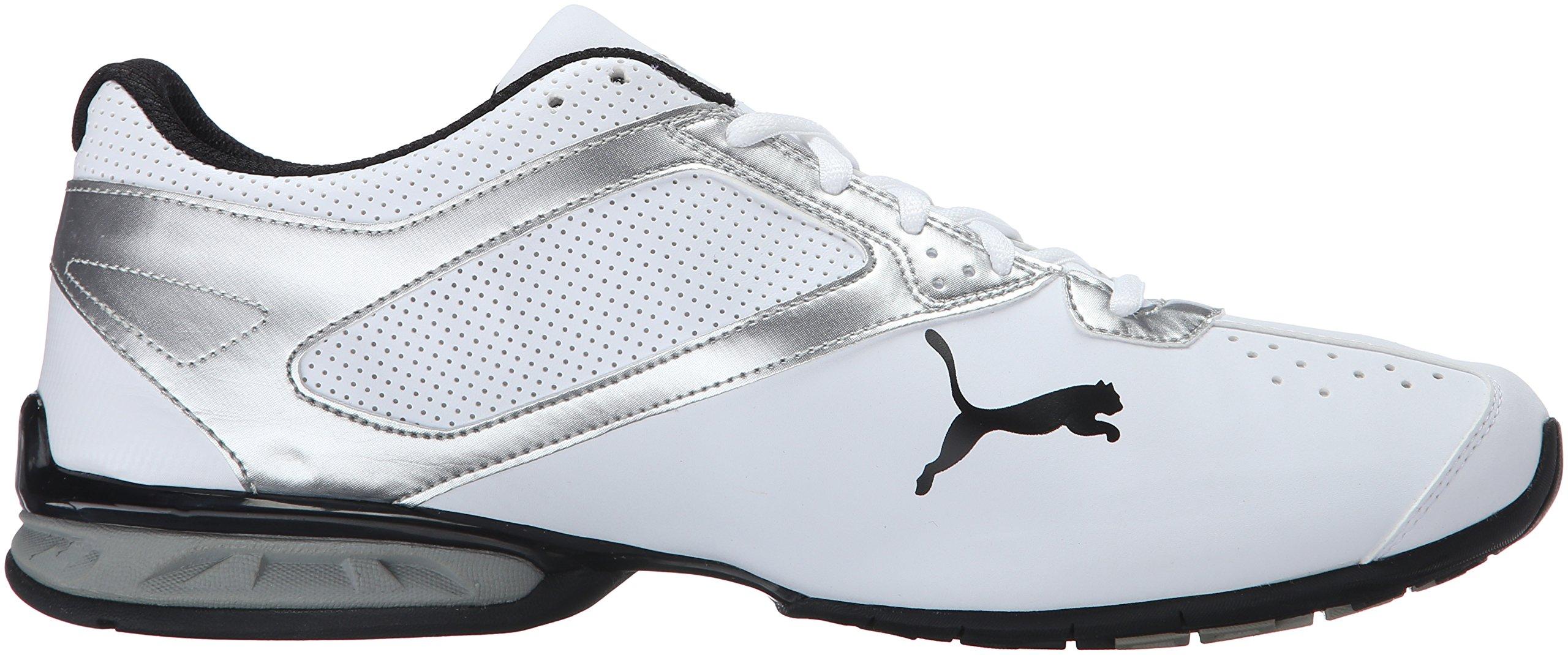 PUMA Men's Tazon 6 FM Puma White/ Puma Silver Running Shoe - 7.5 D(M) US by PUMA (Image #7)