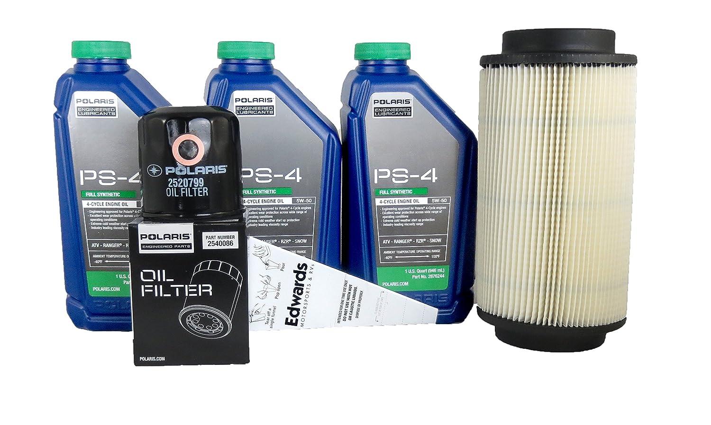 1999-2000 Sportsman 335 Genuine Polaris Oil Change and Air Filter Kit