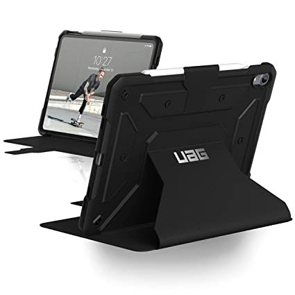 innovative design 2fd46 6ef8c UAG Folio iPad Pro 11-inch Metropolis Feather-Light Rugged [Black] Military  Drop Tested iPad Case with Apple Pencil Holder