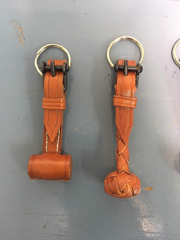 Llavero de cuero: Amazon.es: Handmade
