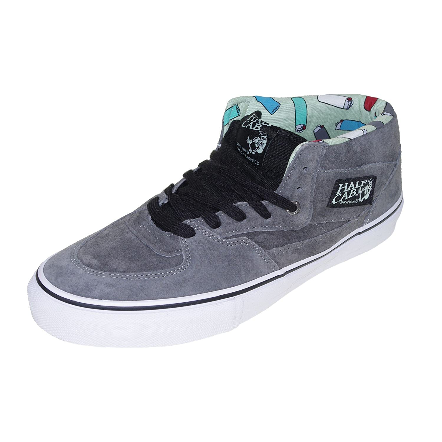 97288cbceb2 Vans Half Cab Pro (Lighters) Pewter Shoe VFDFHN (UK12)  Amazon.co.uk  Shoes    Bags