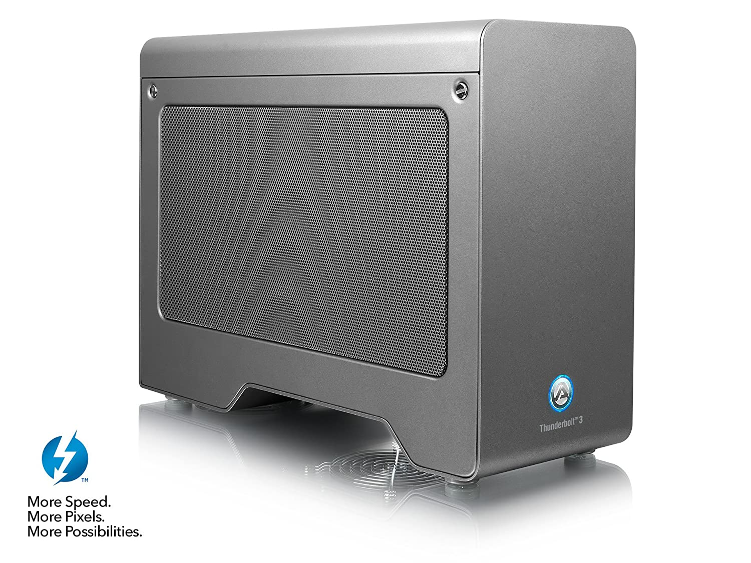 AKiTiO Node Pro Thunderbolt 3 PCIe External GPU Enclosure PC/MAC