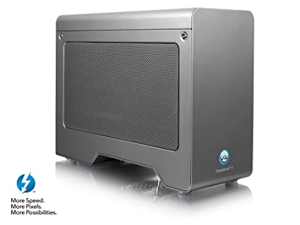 AKiTiO Node Pro Thunderbolt 3 PCIe External GPU Enclosure PC/MAC