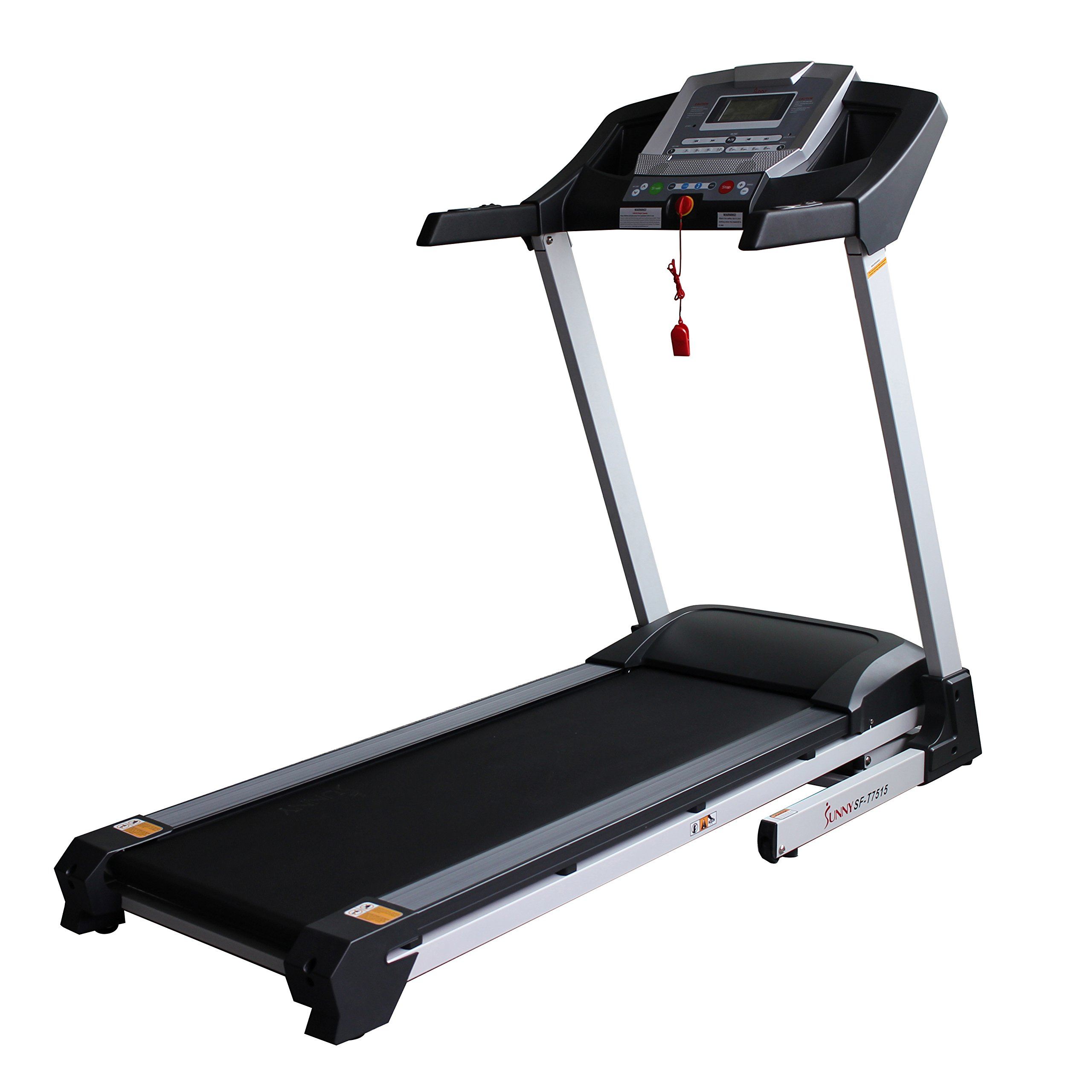 Sunny Health & Fitness SF-T7515 Smart Treadmill with Auto Incline, Bluetooth and BMI Calculator by Sunny Health & Fitness (Image #2)