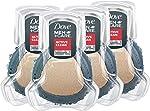Dove Men+Care Shower Tool For Stronger, Healthy-Feeling Skin Active Clean Scrubs