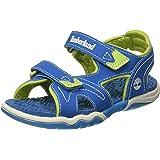 Timberland Unisex Kids' Adventure Seeker 2 Strapmykonos Blue Open Toe Sandals