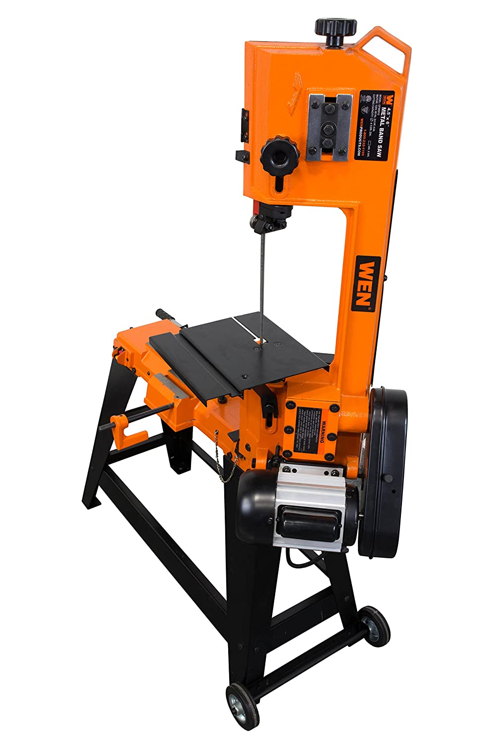 WEN 3970 Metal-Cutting Band Saw with Stand, 4