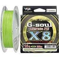 ygk g-Soul x8à Masse de maçon Hi Viz Vert Braid Ligne de pêche 200m