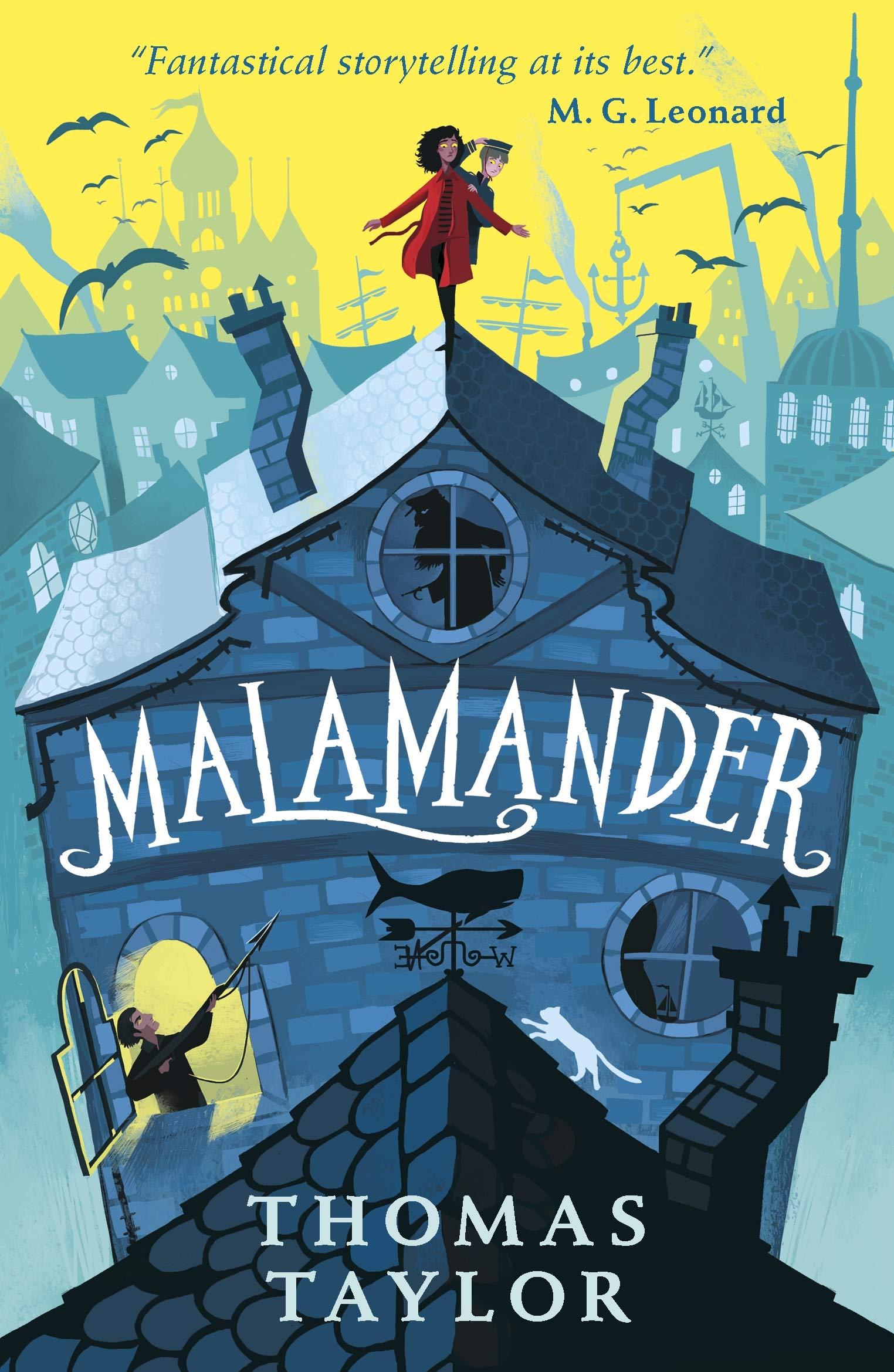 Malamander (An Eerie-on-Sea Mystery) : Taylor, Thomas, Ermos, George:  Amazon.co.uk: Books