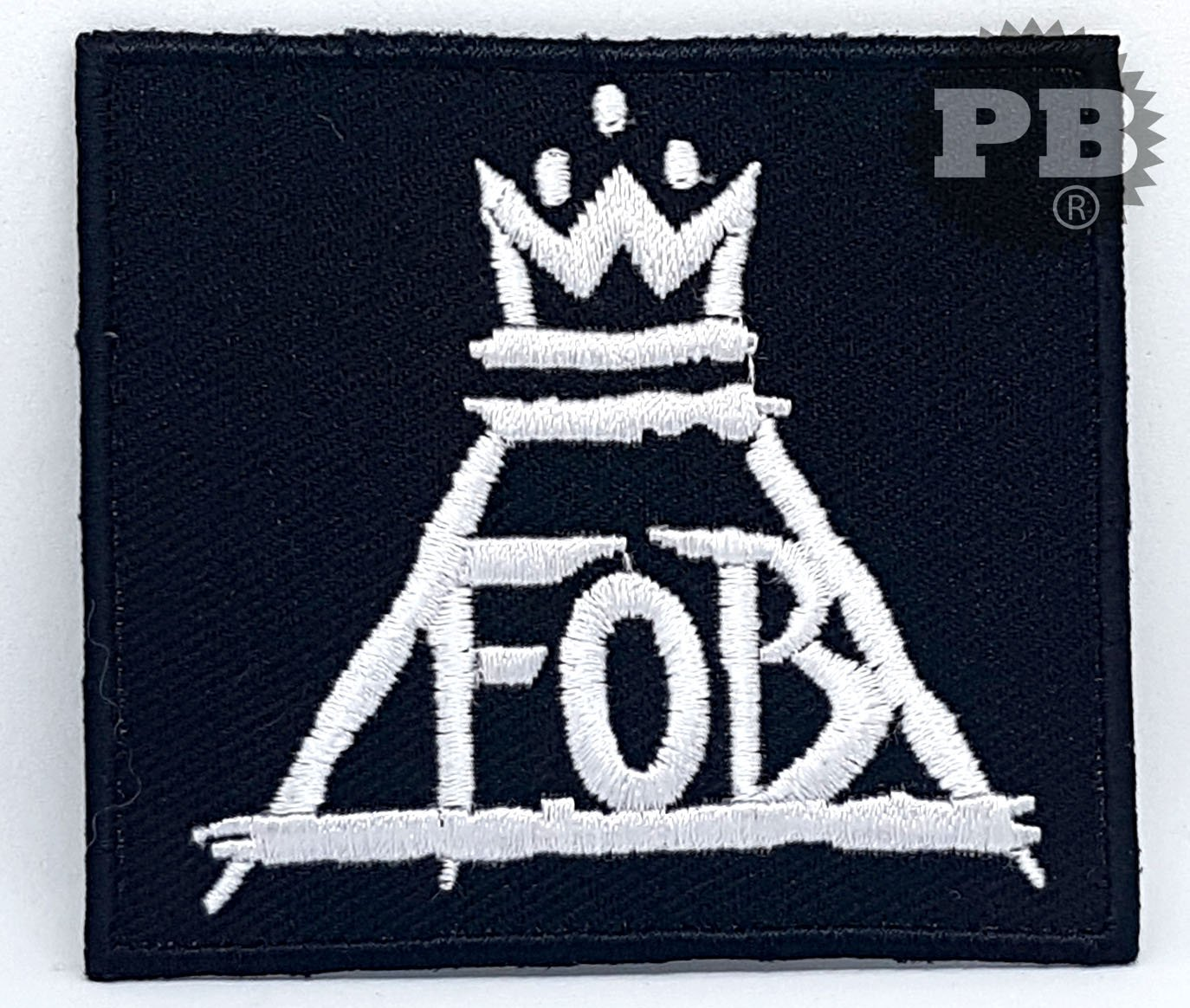 #2163 FALL OUT BOY PATRICK STUMP Iron/sew on Embroidered Patch Embrologos