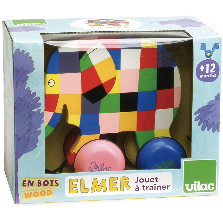 Elmer Elefante Trainabile Legno Vilac 5911