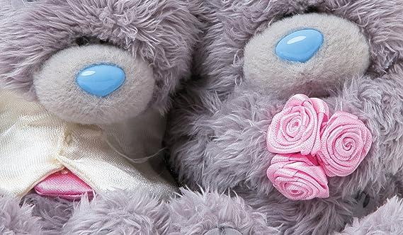 Me To You - Lote de 2 osos de peluche vestidos de novios (10 cm): Amazon.es: Juguetes y juegos
