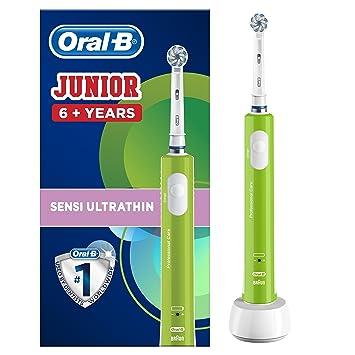 Oral-B Junior Cepillo Eléctrico 6+ Verde: Amazon.es: Salud y cuidado personal