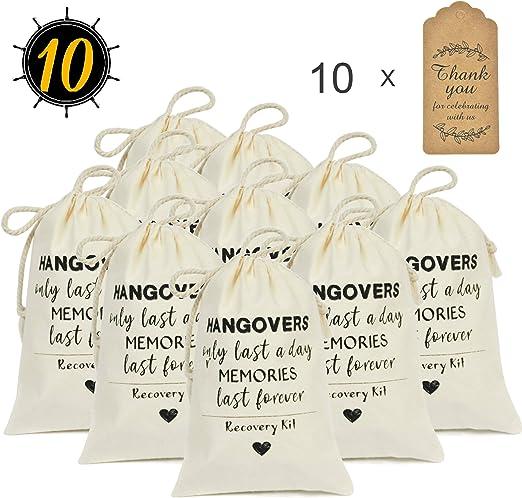 DÉCOCO 10 Bolsas (4 x 6)  y Etiquetas de Regalo Bolsas de ...