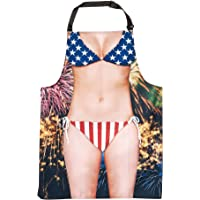 Faux Real womens Funny Realistic Sublimated Apron Fashion Scarf - multi - One Size