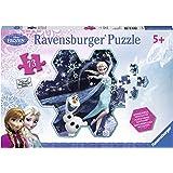 Ravensburger 睿思 拼图 迪士尼系列冰雪埃尔莎和小雪人 73片 R136414