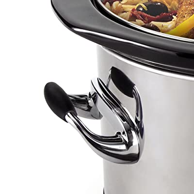 Crock-Pot Programmable Touchscreen Slow Cooker SCVT650-PS, 6.5-Quart