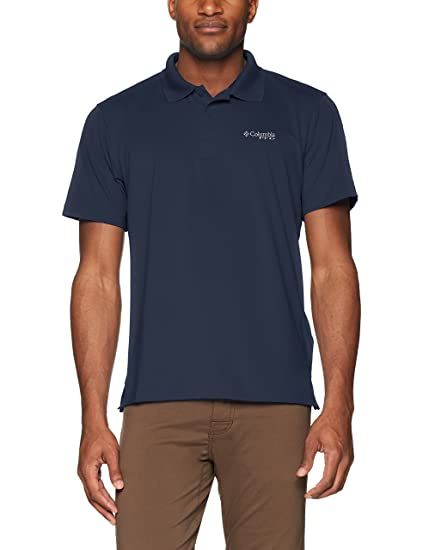 03f1ae6885a Amazon.com: Columbia Men's Skiff Cast Polo Shirt: Clothing